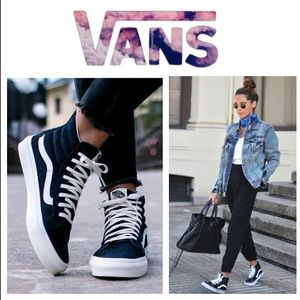 LIKE NEW!  Vans 'Ward' hi-top canvas sneaker (7)